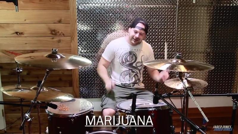 Jared Dines - барабанщик под разными препаратами