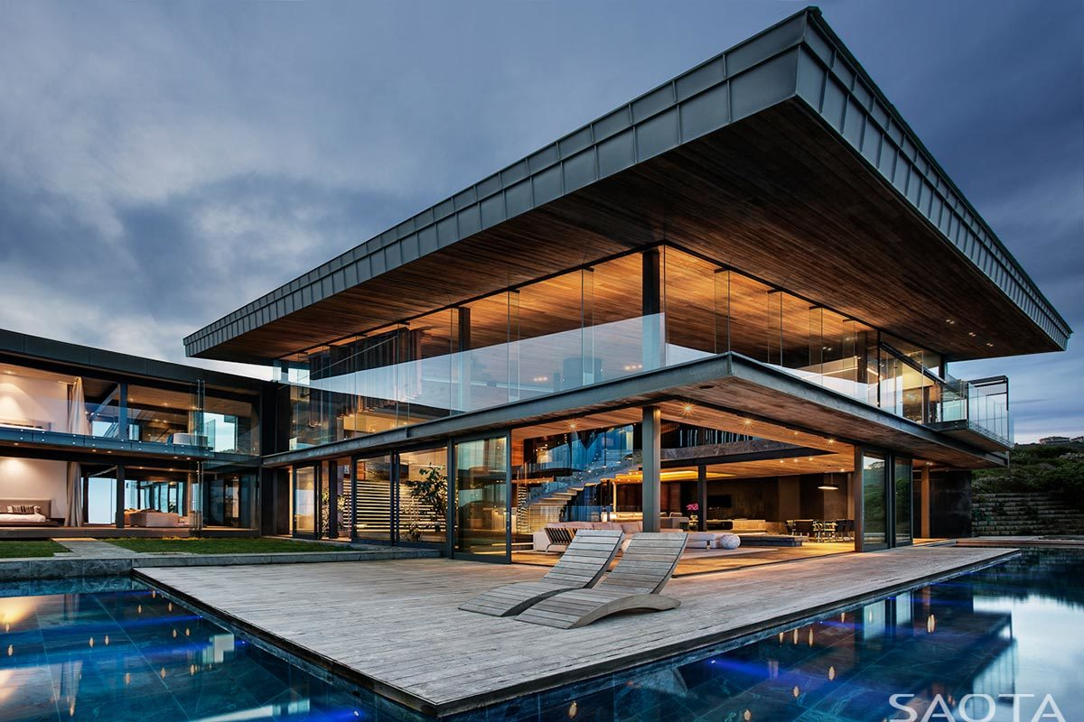 Modern Home Private Cove 3/Home Design: SAOTA