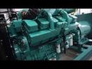 New Genset 750KW Cummins KTA38-G2A Diesel Generator Marathon Alternator MX-750-4