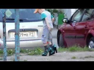 Ребята нашли женские туфли))) Прикол)) 2014