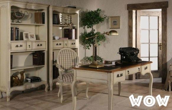 Рабочий домашний кабинет в стиле прованс, фото