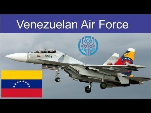 Força Aérea da República Bolivariana da Venezuela é superior a de todos os seus vizinhos latinos