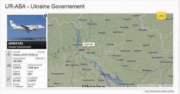 Колонна из 300 авто отправилась в аэропорты встречать Януковича - Цензор.НЕТ 2964