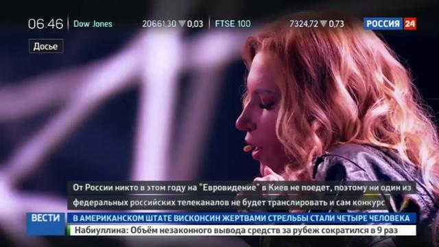 Новости на Россия 24 • В России Евровидение-2017 никто не покажет