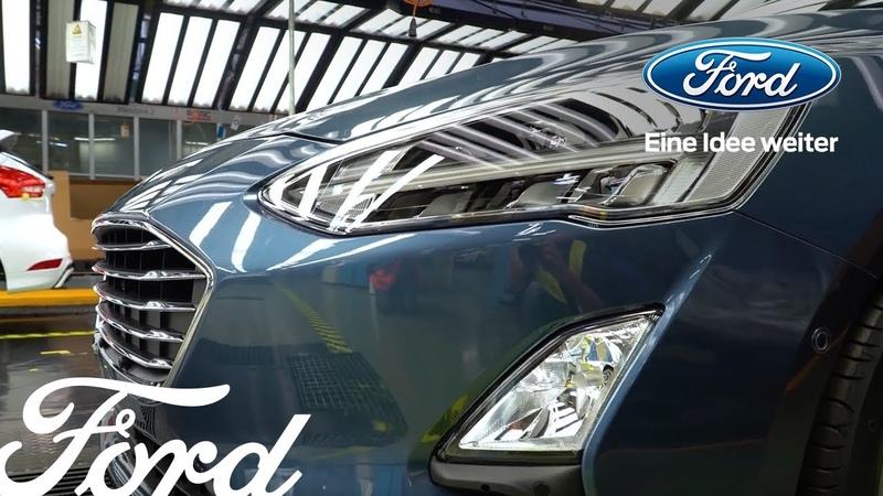 Produktionsstart des neuen Ford Focus – Erfolgsmodell läuft in Saarlouis vom Band