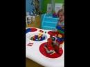 LEGO Education Анастасия построила башню с часами и Zeленопарк из LEGO