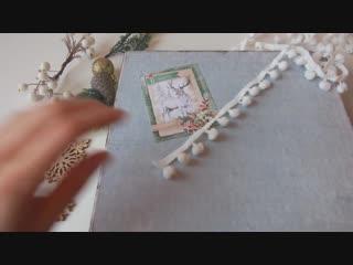 Делаем подарочную упаковку из обувной коробки мастер класс_новогодний декор своими руками_DIY