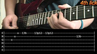 Another Brick In The Wall Guitar Solo Lesson - Pink Floyd (with tabs)