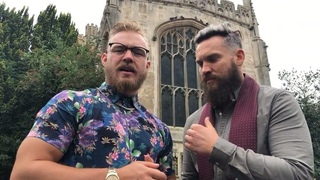 #MoustacheMountain's @tylerbate_97 & @trentseven7 are almost set for tag team competition in Cambridge on #NXTUK! famigotmemesPosting