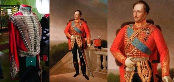 Гусарский мундир императора В экспозиции Артиллерийского музея среди прочих мундиров лейб-гусарский отличается фанфаронской шикарностью. По богатству отделки сразу понятно, что это даже не