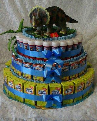 Тортики для детского сада.