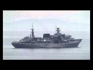 СС Алагез на рейде бухты Тихая