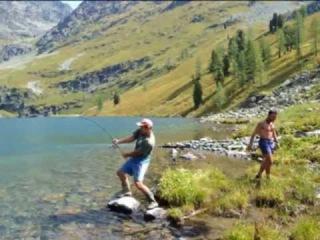 Сказка Горный Алтай. Рыбалка. 9 часть