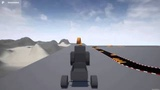 Custom Vehicles in Unreal Engine 4 - 1 - Physics Constraints for Rolling Wheels and Hitches