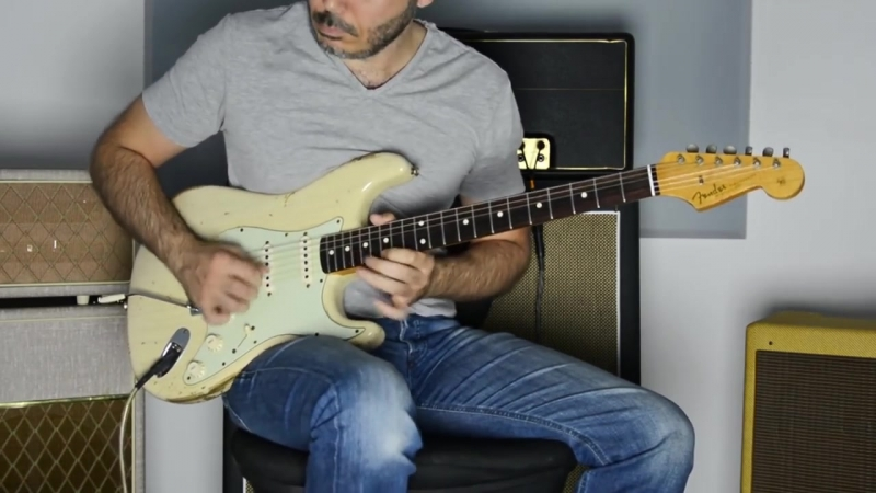 Katy Perry Roar Electric Guitar Cover by Kfir Ochaion