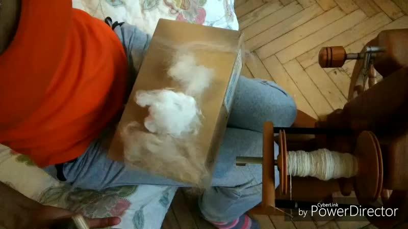 история создания пряжи на прялке кашемир кролик меринос альпака