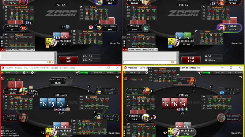 PokerStars Zoom NL100Reg