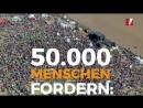 Was für ein Tag! Die größten Proteste aller Zeiten für den Kohleausstieg! 50.000 Menschen waren heute am HambacherWald. Diese Be