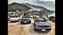 BMW Z1, Z3, Z4 and ALPINA Z8 Caravan on Pacific Coast Highway Road