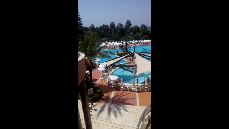 Turkey,Alanya hotel Kirman Arycanda De Luxe 5*(2018)