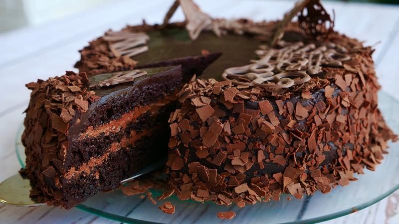 Торт Шоколадный Бархат Для Любителей Шоколада