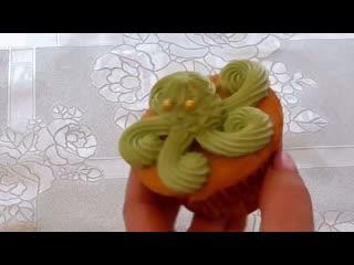 Как украсить кексы   Больше рецептов на странице