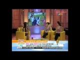 Cansu Dere - Cansu Dere Selms Ergec in NTV Herşey Çocuklar İçin 23.04.2013