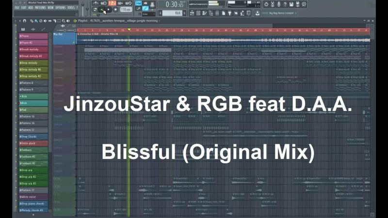 JinzouStar RGB feat D A A Blissful Original Mix