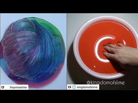Dünyanın En Rahatlatıcı Slime Videoları 25 YENİ