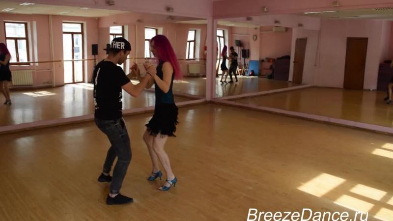 Дуглас Рохас Эрнандес и Светлана.Доминиканская бачата в Breeze Dance))