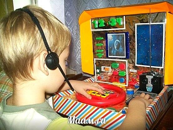 Фото атрибуты к сюжетно-ролевым играм в детском саду своими руками фото