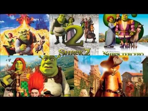 Descargar Shrek La Saga (2001-2011) 1080p Dual x265 Latino Mega