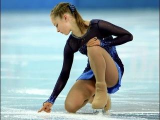Юлия Липницкая Интервью после короткой программы 19 февраля  Фигурное Катание Олимпиада в Сочи 2014