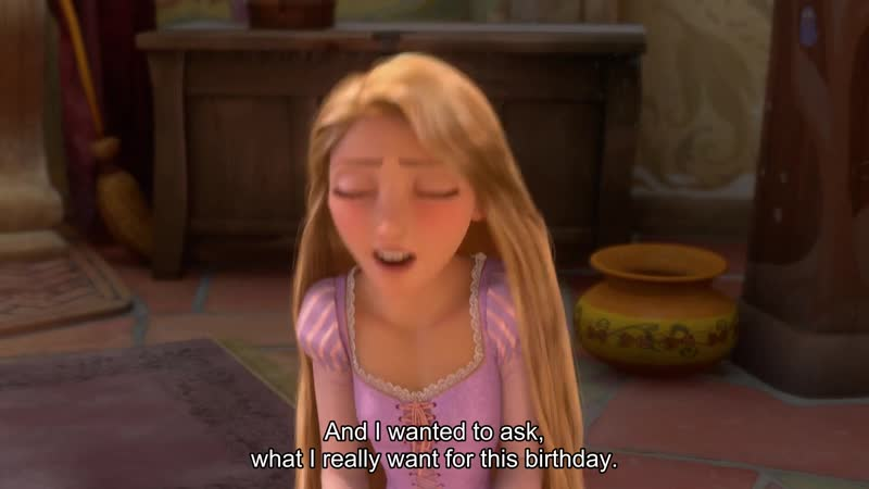 And I wanted to ask, what I really want for this birthday.