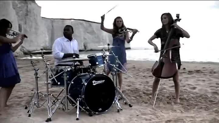Escala - 'Palladio' OFFICIAL VIDEO (Вивальди - танго смерти, игра на скрипке))