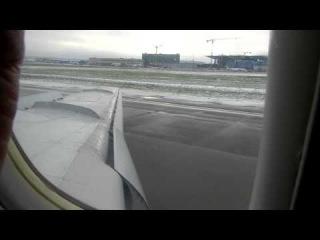 Посадка в Пулково на Ту-154 [01.11.12]