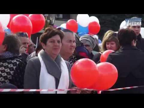 Первомайская демонстрация в Урюпинске