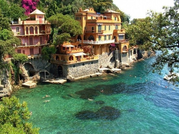 Портофино – курорт Лигурийского побережья