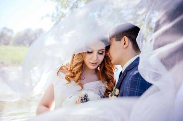 Rustem Adelia. Wedding day.