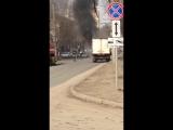 Иваново. На ул. Кузнецова горит авто