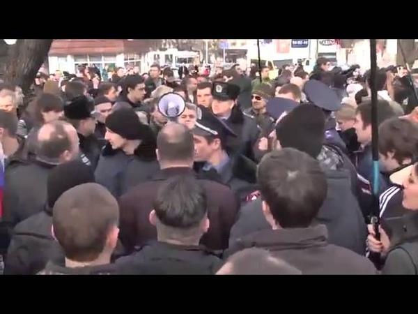Неудавшийся евромайдан в Севастополе Василия Зеленчука 26 01 2014