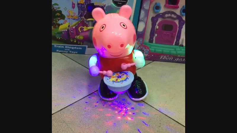Музыкальная свинка Пепа,в наличии 570р