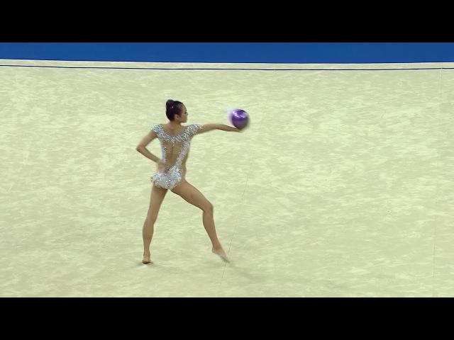 Laura Zeng - Ball Final - 2017 World Rhythmic Gymnastics Championships