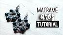 Aros fríos » ❄️ tutorial | como hacer | diy ● Earrings 130