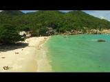 Crystal Bay, Koh Samui Aerial Video By a Drone