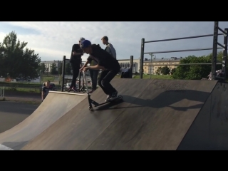 My progress for 2 years of riding a scooter (Мой прогресс за 2 года катания)
