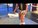 Муай тай самоучитель.Видео #4:уход от удара ногой