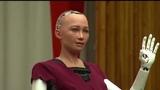 Робот София россияне не славяне - Robot Sofia Russians are not Slavs