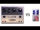Origin Effect Cali76 vs Keeley C4 Compressor