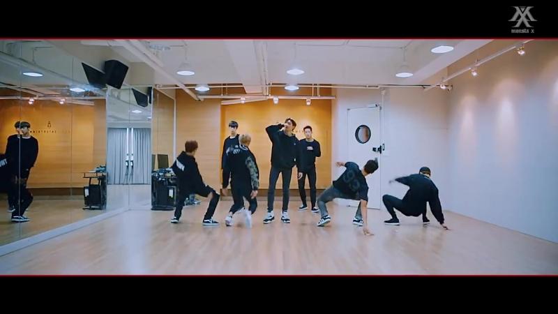 [Dance Practice] 몬스타엑스 (MONSTA X) - 히어로(HERO) Fix ver